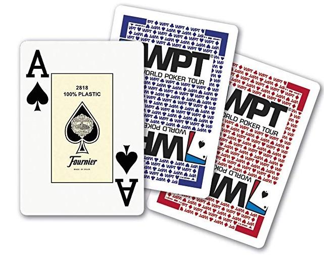 Baraja de cartas francesa o de póker