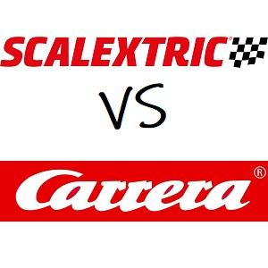 Scalextric vs Carrera